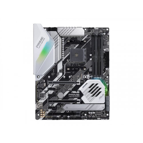 ASUS PRIME X570-PRO - Motherboard - ATX - Socket AM4 - AMD X570 - USB-C Gen2, USB 3.2 Gen 1, USB 3.2 Gen 2 - Gigabit LAN - onboard graphics (CPU required) - HD Audio (8-channel)