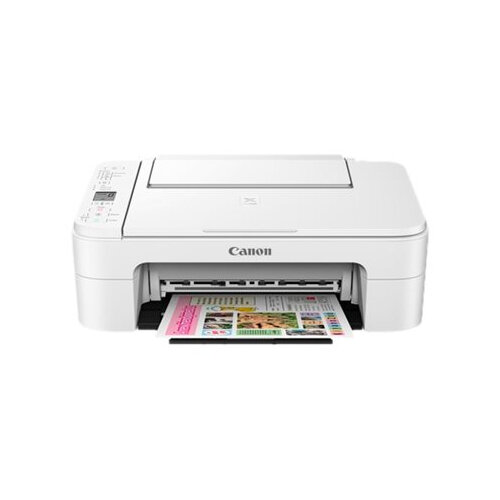 Canon PIXMA TS3150 - Multifunction printer - colour - ink-jet - 216 x 297 mm (original) - A4/Legal (media) - up to 7.7 ppm (printing) - 60 sheets - USB 2.0, Wi-Fi(n)