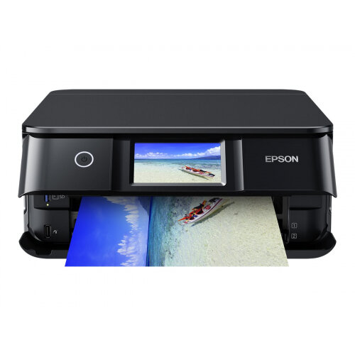 Epson Expression Photo XP-8500 - Multifunction printer - colour - ink-jet - A4/Legal (media) - up to 32 ppm (printing) - 120 sheets - USB 2.0, Wi-Fi(n), USB host - black