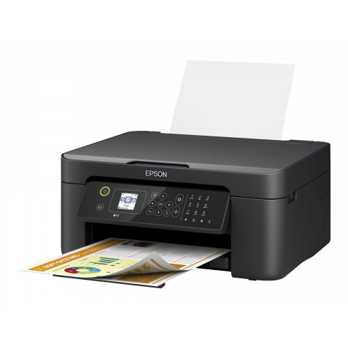 Epson WorkForce WF-2810DWF - Multifunction printer - colour - ink-jet - A4/Legal (media) - up to 33 ppm (printing) - 100 sheets - USB 2.0, Wi-Fi(n)