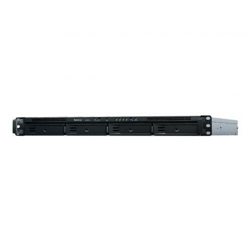 Synology RackStation RS820RP+ - NAS server - 4 bays - rack-mountable - SATA 6Gb/s - RAID 0, 1, 5, 6, 10, JBOD - RAM 2 GB - Gigabit Ethernet - iSCSI - 1U