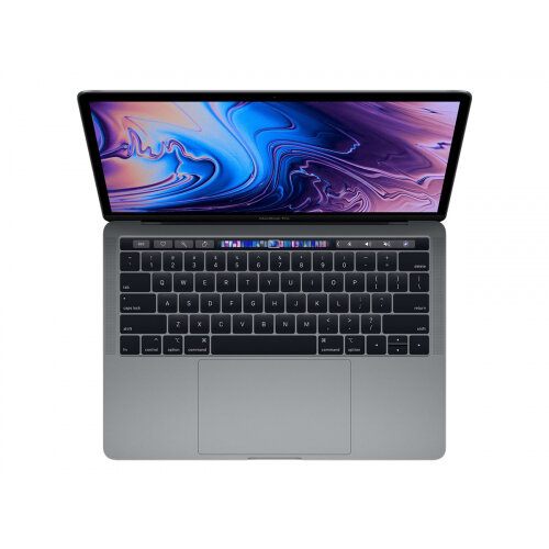 Apple MacBook Pro with Touch Bar - Core i5 1.4 GHz - macOS Catalina 10.15 - 8 GB RAM - 128 GB SSD - 13.3&uot; IPS 2560 x 1600 (WQXGA) - Iris Plus Graphics 645 - Wi-Fi, Bluetooth - space grey - kbd: UK