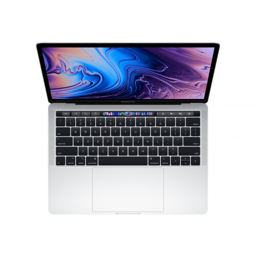 Apple MacBook Pro with Touch Bar - Core i5 1.4 GHz - macOS Catalina 10.15 - 8 GB RAM - 256 GB SSD - 13.3&uot; IPS 2560 x 1600 (WQXGA) - Iris Plus Graphics 645 - Wi-Fi, Bluetooth - silver - kbd: UK