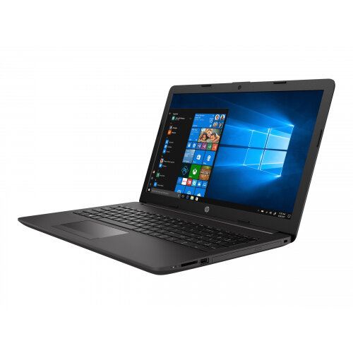 HP 255 G7 - Ryzen 5 2500U / 2 GHz - Win 10 Pro 64-bit - 8 GB RAM - 256 GB SSD - DVD-Writer - 15.6&uot; 1366 x 768 (HD) - AMD Radeon Vega - Wi-Fi, Bluetooth - dark ash silver - kbd: UK