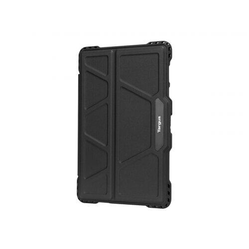 Targus Pro-Tek - Flip cover for tablet - rugged - polyurethane - black - for Samsung Galaxy Tab S5e