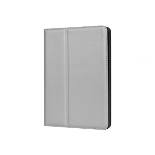 Targus Click-In - Flip cover for tablet - polyurethane - silver - for Apple iPad mini; iPad mini 2; 3; 4; 5