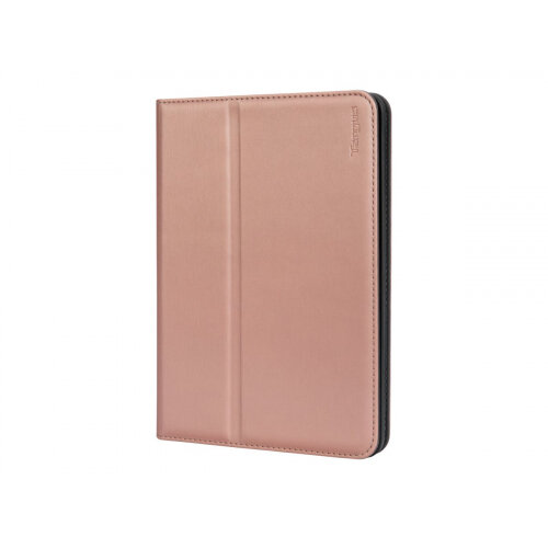 Targus Click-In - Flip cover for tablet - polyurethane - rose gold - for Apple iPad mini; iPad mini 2; 3; 4; 5