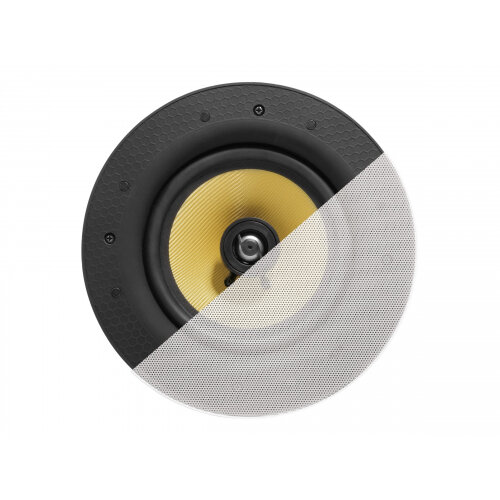 Vision CS-1900 - Speaker - 60 Watt - 2-way - white (grille colour - white)