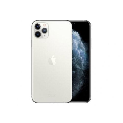Apple iPhone 11 Pro Max - Smartphone - dual-SIM - 4G Gigabit Class LTE - 256 GB - GSM - 6.5&uot; - 2688 x 1242 pixels (458 ppi) - Super Retina XDR Display (12 MP front camera) - 3x rear cameras - silver