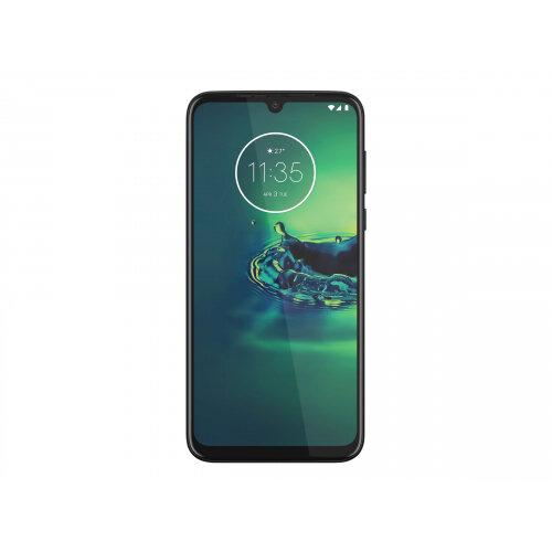 Motorola Moto G8 Plus - Smartphone - dual-SIM - 4G LTE - 64 GB - microSDXC slot - GSM - 6.3&uot; - 2280 x 1080 pixels (403 ppi) - LTPS IPS - RAM 4 GB (25 MP front camera) - 3x rear cameras - Android - cosmic blue