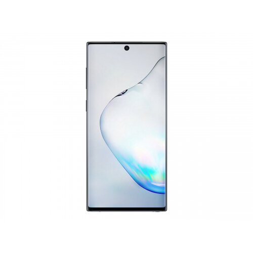 Samsung Galaxy Note10 - Smartphone - dual-SIM - 4G LTE - 256 GB - TD-SCDMA / UMTS / GSM - 6.3&uot; - 2280 x 1080 pixels (401 ppi) - Dynamic AMOLED - RAM 8 GB (10 MP front camera) - 3x rear cameras - Android - aura black
