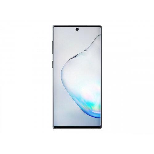 Samsung Galaxy Note10 - Smartphone - dual-SIM - 4G LTE - 256 GB - TD-SCDMA / UMTS / GSM - 6.3&uot; - 2280 x 1080 pixels (401 ppi) - Dynamic AMOLED - RAM 8 GB (10 MP front camera) - 3x rear cameras - Android - aura black