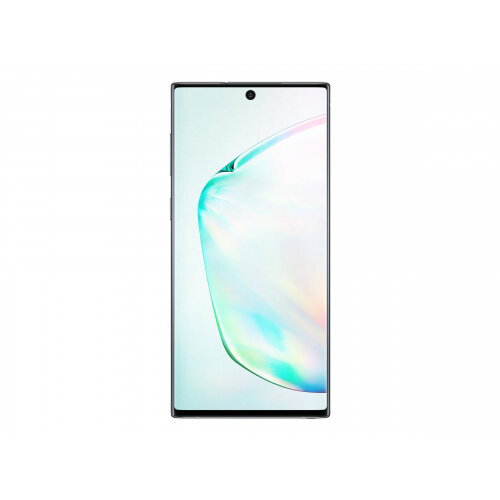 Samsung Galaxy Note10 - Smartphone - dual-SIM - 4G LTE - 256 GB - TD-SCDMA / UMTS / GSM - 6.3&uot; - 2280 x 1080 pixels (401 ppi) - Dynamic AMOLED - RAM 8 GB (10 MP front camera) - 3x rear cameras - Android - aura glow