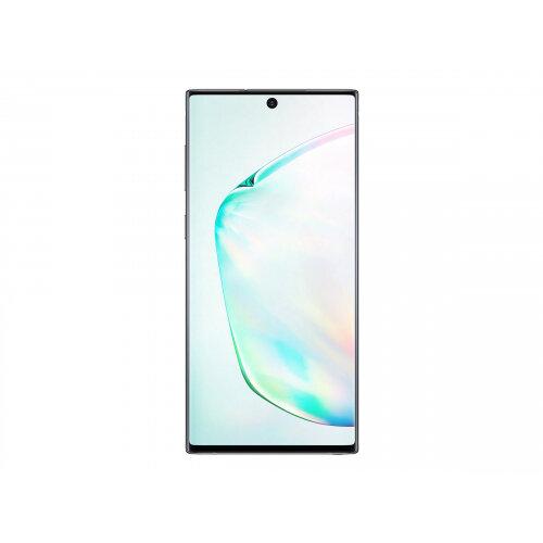 Samsung Galaxy Note10 - Smartphone - dual-SIM - 4G LTE - 256 GB - TD-SCDMA / UMTS / GSM - 6.3&uot; - 2280 x 1080 pixels (401 ppi) - Dynamic AMOLED - RAM 8 GB (10 MP front camera) - 3x rear cameras - Android - aura glow