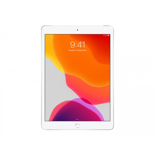 Apple 10.2-inch iPad Wi-Fi + Cellular - 7th generation - tablet - 128 GB - 10.2&uot; IPS (2160 x 1620) - 4G - LTE - silver
