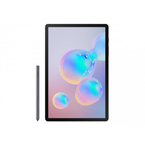 Samsung Galaxy Tab S6 - Tablet - Android 9.0 (Pie) - 256 GB - 10.5&uot; Super AMOLED (2560 x 1600) - microSD slot - mountain grey