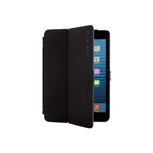 Tech air Hardcase - Flip cover for tablet - PET rubberised - black - 10.2&uot; - for Apple 10.2-inch iPad (7th generation)