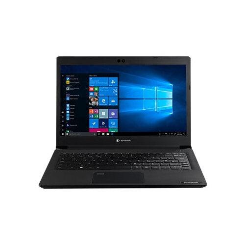 Dynabook Toshiba Port´g´ A30-E-14P - Core i7 8550U / 1.8 GHz - Win 10 Pro 64-bit - 8 GB RAM - 256 GB SSD - 13.3&uot; 1920 x 1080 (Full HD) - UHD Graphics 620 - Wi-Fi, Bluetooth - tile black (keyboard), black with precious hairline - with 1