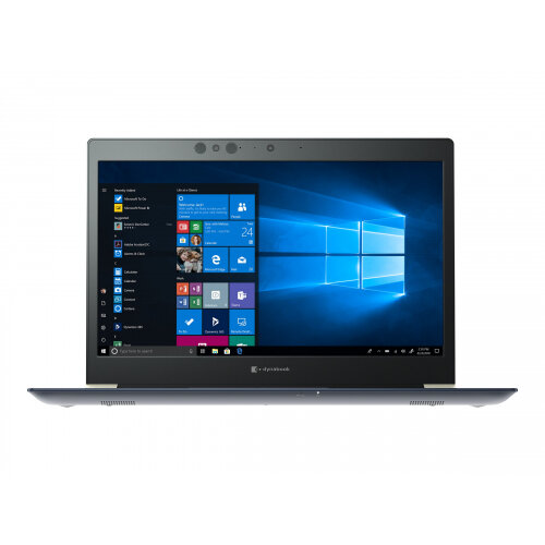 Dynabook Toshiba Port´g´ X30-F-12M - Core i7 8565U / 1.8 GHz - Win 10 Pro 64-bit - 8 GB RAM - 256 GB SSD - 13.3&uot; 1920 x 1080 (Full HD) - UHD Graphics 620 - Wi-Fi, Bluetooth - tile matte black (keyboard), onyx blue with hairline - with 1
