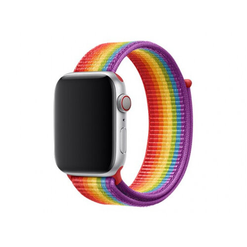 Apple 44mm Sport Loop - Pride Edition - watch strap - Regular (fits wrists 145 -220 mm) - for Watch (42 mm, 44 mm)
