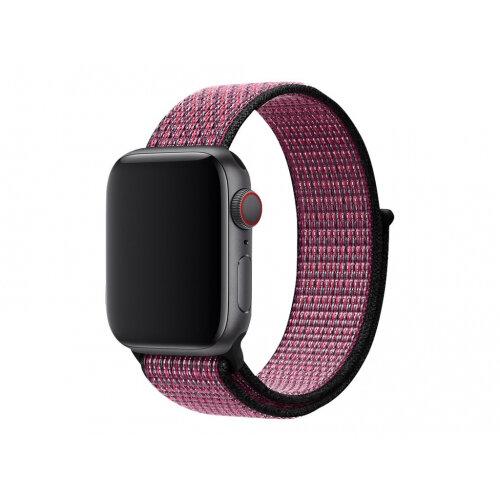 Apple 40mm Nike Sport Loop - Watch strap - Regular - pink blast, true berry - for Watch (38 mm, 40 mm)