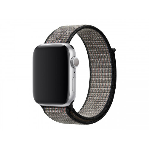 Apple 44mm Nike Sport Loop - Watch strap - Regular (fits wrists 145 -220 mm) - Royal Pulse/Lava Glow - for Watch (42 mm, 44 mm)