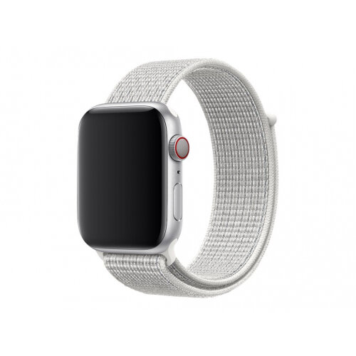 Apple 44mm Nike Sport Loop - Watch strap - Regular (fits wrists 145 -220 mm) - summit white - for Watch (42 mm, 44 mm)