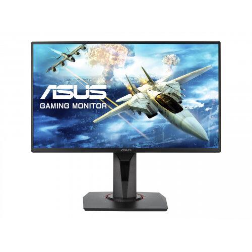 ASUS VG258QR - LED monitor - 24.5&uot; - 1920 x 1080 Full HD (1080p) - TN - 400 cd/m&up2; - 1000:1 - 0.5 ms - HDMI, DVI-D, DisplayPort - speakers - black