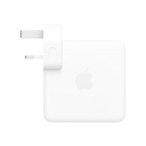 Apple USB-C - Power adapter - 96 Watt - United Kingdom - for MacBook (Early 2015, Early 2016, Mid 2017); MacBook Air with Retina display (Early 2020, Late 2018, Mid 2019); MacBook Pro (Late 2016, Late 2019, Mid 2017, Mid 2018, Mid 2019)
