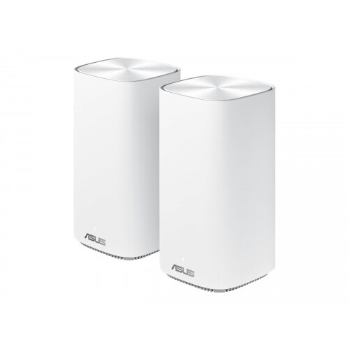 ASUS ZenWiFi AC Mini (CD6) - Wi-Fi system (router, extender) - mesh - GigE - 802.11a/b/g/n/ac - Dual Band