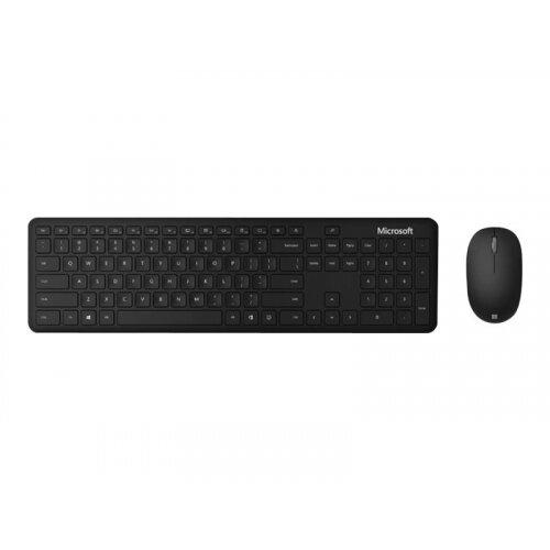 Microsoft Bluetooth Desktop - For Business - keyboard and mouse set - wireless - Bluetooth 4.0 - UK - matte black