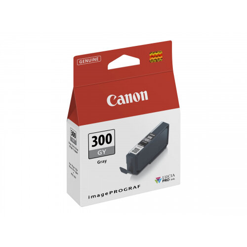 Canon PFI-300 GY - Grey - original - ink tank - for imagePROGRAF PRO-300