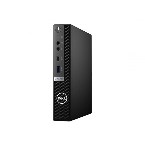 Dell OptiPlex 7080 - Micro - Core i5 10500T / 2.3 GHz - RAM 8 GB - SSD 256 GB - UHD Graphics 630 - GigE, 802.11ax - WLAN: 802.11a/b/g/n/ac/ax, Bluetooth 5.1 - vPro - Win 10 Pro 64-bit - monitor: none - BTS - with 3 Years Basic Onsite
