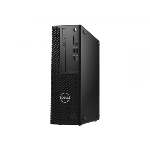 Dell Precision 3440 Small Form Factor - SFF - 1 x Core i5 10500 / 3.1 GHz - RAM 8 GB - SSD 256 GB - DVD-Writer - UHD Graphics 630 - GigE - vPro - Win 10 Pro 64-bit - monitor: none - BTP - with 1 Year Basic Onsite (IE, UK - 3 Years)