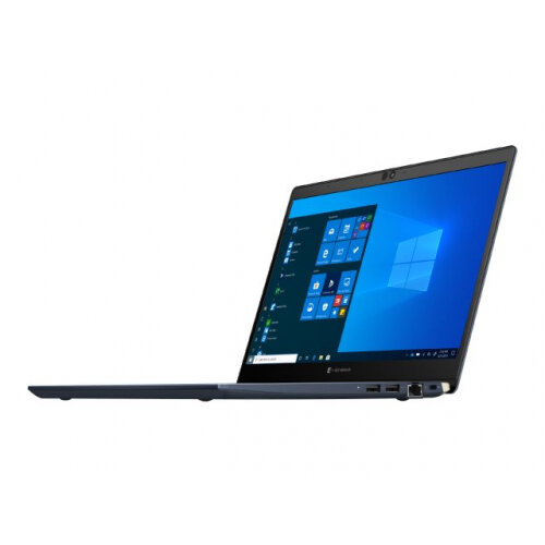 Dynabook Toshiba Port´g´ X30L-G-10J - Core i7 10710U / 1.1 GHz - Win 10 Pro 64-bit - 16 GB RAM - 512 GB SSD - 13.3&uot; 1920 x 1080 (Full HD) - UHD Graphics - Bluetooth, Wi-Fi - tile black (keyboard), onyx blue - with 1 Year Reliability Gua