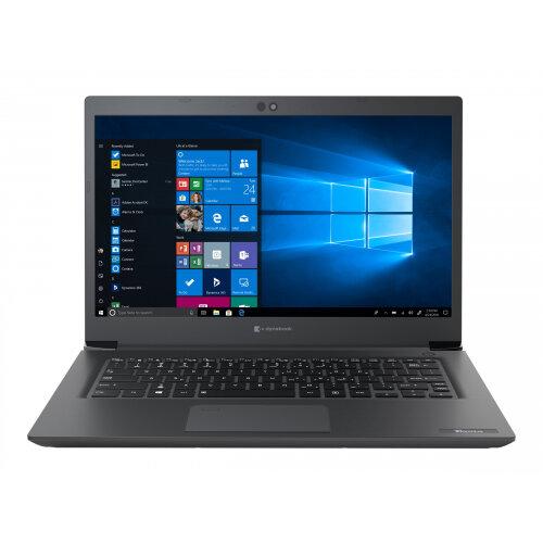 Dynabook Toshiba Tecra A40-E-15X - Core i5 8250U / 1.6 GHz - Win 10 Pro 64-bit - 8 GB RAM - 256 GB SSD - 14&uot; 1366 x 768 (HD) - UHD Graphics 620 - Wi-Fi, Bluetooth - black with precious hairline - with 1 Year Reliability Guarantee