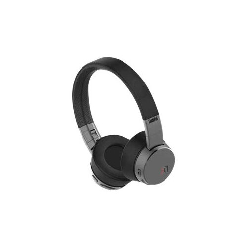 Lenovo ThinkPad X1 - Headphones with mic - on-ear - Bluetooth - wireless - active noise cancelling - for ThinkPad E14 Gen 2; P14s Gen 1; X1 Fold Gen 1; Yoga Slim 7 Carbon 13