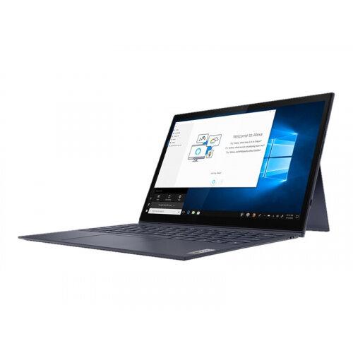 Lenovo Yoga Duet 7 13IML05 82AS - Tablet - with detachable keyboard - Core i7 10510U / 1.8 GHz - Win 10 Pro 64-bit - 8 GB RAM - 512 GB SSD NVMe - 13&uot; touchscreen 2160 x 1350 (WQHD) - UHD Graphics - Bluetooth, Wi-Fi - slate grey - kbd: UK