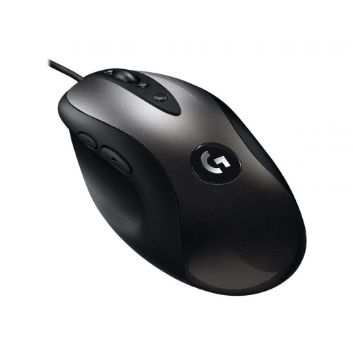 Logitech MX MX518 - Mouse - optical - 8 buttons - wired - USB