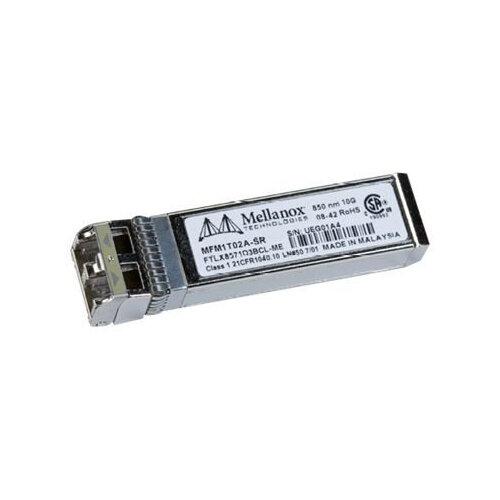 Mellanox Active Optical Modules - SFP+ transceiver module - 10 GigE - 10GBase-SR - LC multi-mode - up to 300 m - 850 nm - for BridgeX BX4010, BX4020; ConnectX EN MNPH28B-XTC