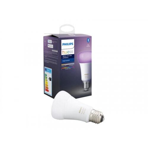 Philips Hue White and Color Ambiance - LED light bulb - shape: A60 - E27 - 9 W (equivalent 60 W) - class A+ - 16 million colours