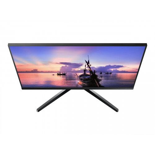 Samsung F27T350FHU - T35F Series - LED monitor - 27&uot; - 1920 x 1080 Full HD (1080p) @ 75 Hz - IPS - 250 cd/m&up2; - 1000:1 - 5 ms - HDMI, VGA - dark grey/blue