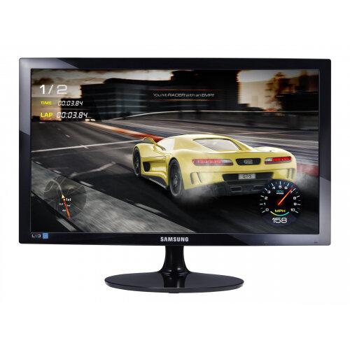 Samsung S24D332H - SD332 Series - LED monitor - 24&uot; - 1920 x 1080 Full HD (1080p) @ 75 Hz - TN - 250 cd/m&up2; - 1000:1 - 1 ms - HDMI, VGA - high glossy black