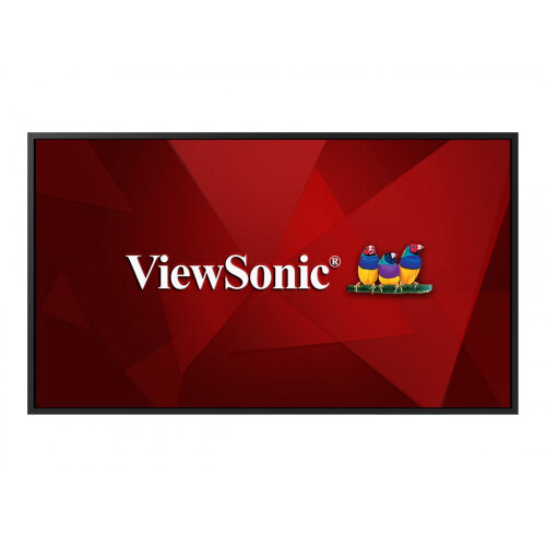 ViewSonic CDE4320 - 43&uot; Diagonal Class LED display - digital signage - 4K UHD (2160p) 3840 x 2160 - D-LED Backlight