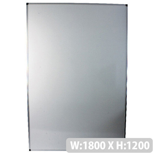 Bi-Office Whiteboard 1800x1200mm Aluminium Frame MB2712170