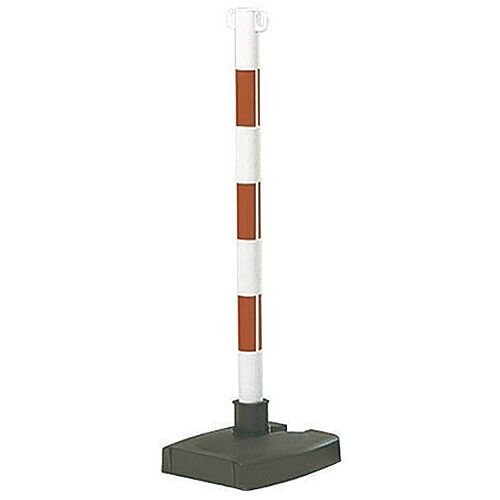 Bi-Pose Post And Base Red/White 371474