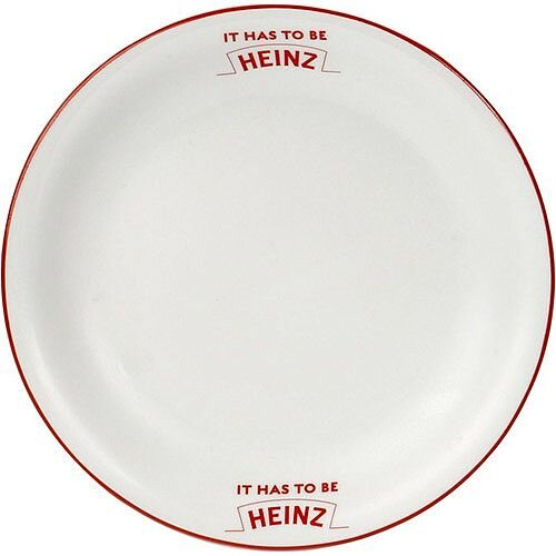 """8"""" Plate 002103440 - Customise with your brand, logo or promo text"""