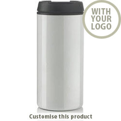 Metro tumbler white 109637 - Customise with your brand, logo or promo text