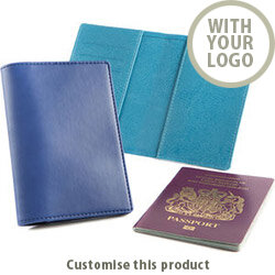 Deluxe Passport Wallet 166858 - Customise With Your Logo or Text