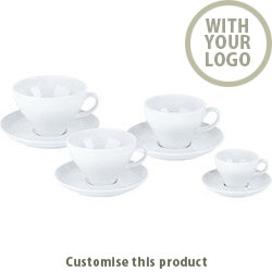 Verona Cup &Saucer 171446 - Customise with your brand, logo or promo text